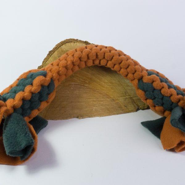WauZieh Fleecezergel - Knochen XL im Muster 2 Farben