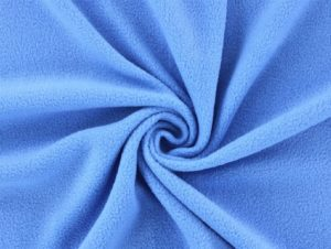 Antipilling Fleece Mittelblau