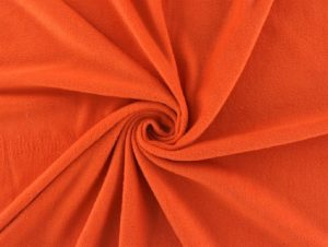 Antipilling Fleece Orange