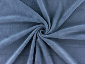 Antipilling Fleece Taubenblau