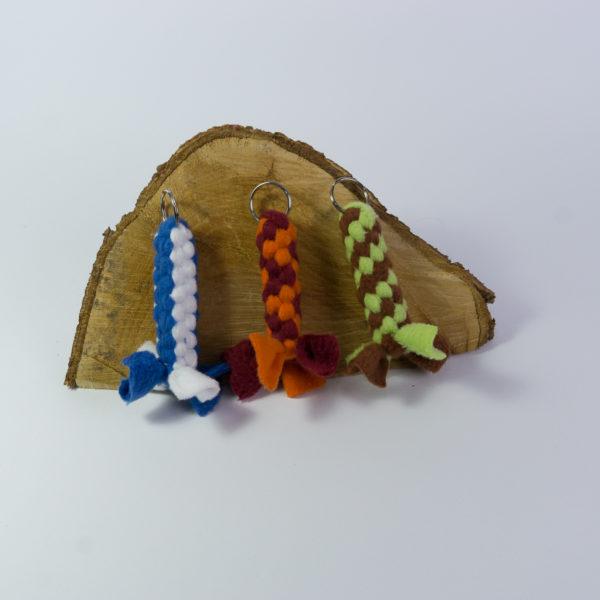 WauZieh, Fleecezergel - Schlüsselanhänger